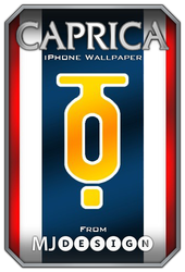 Caprica - iPhone Wall by MJoseph15