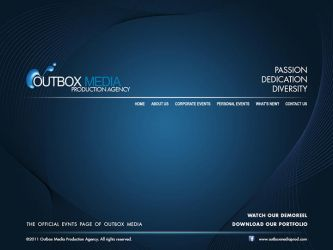 Outbox Media Website design Study 5 by castortroy3497