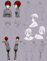 Cassie - character sheet by Precia-T