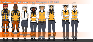 Railgun Engineering Staff by Gwentari