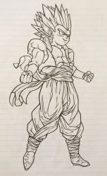 Gotenks by ShrimpChipSensei