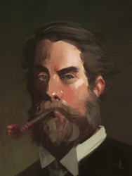 Party Sargent by mattolsonart