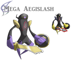 Mega Aegislash by AlphaXXI