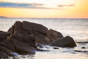 Rocky Beach Foreground Stock 2 by little-spacey