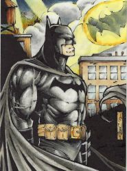 Batman contemplation psc by GeorgeCalloway