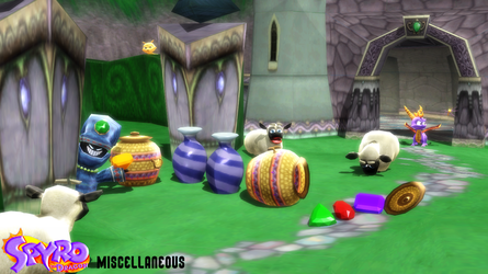 (MMD Model) Miscellaneous (Spyro) Download by SAB64