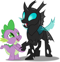 Vector #543 - A Changeling Can Change by DashieSparkle