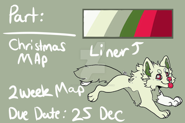 All i Want for Christmas MAP color pallet! [OPEN] by ARTISTwolfgirl493