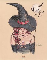 Sexy Witch by RichardHuante