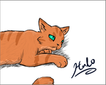 Random cat drawing by TheStarsRedemption