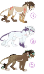 Adoptables Batch 1 SOLD by Kamis-Cafe