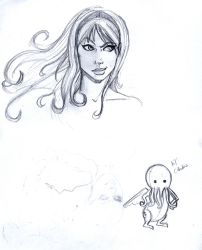 Sketches by Ielle77