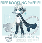 [CLOSED!!] June Bookling + myo slot Raffle! by Cappuchi