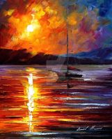 In expectation of wind by Leonid Afremov by Leonidafremov