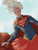 Just be Supergirl by Domnics