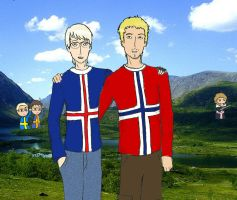 satw - iceland, norway's brother by aldohyeah