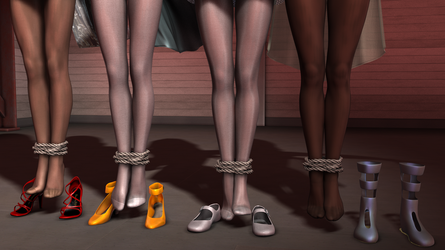 Shoes for Sale by EmpireCityHeroines