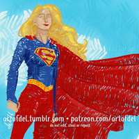 Supergirl (2016) by delusionmaker