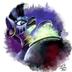 Speed Paint - Zecora by Tsitra360