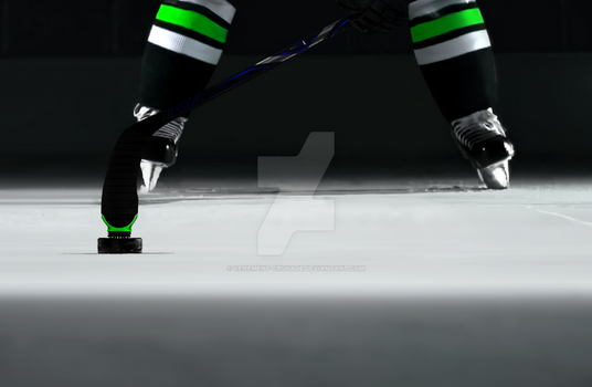 Puck Gripper - Fully Attached Application (Green) by Vehement-Crusade