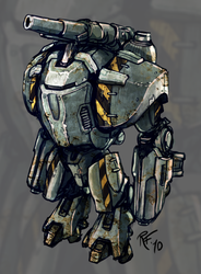 Powerarmour concept by BluntieDK