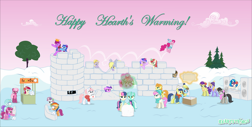 Happy Hearth's Warming! [2015] by TriteBristle