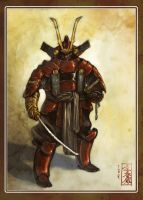 Another Samurai by MarcWasHere
