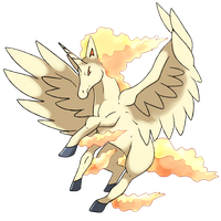 Mega Rapidash Revamped by Phatmon