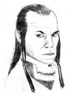 Portrait of lord Elrond by MorellAgrysis