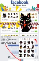 The GaMERCaT Facebook Stickers! by celesse
