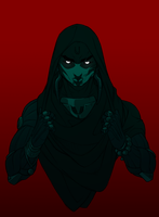 Hooded Tenno by BanshOwlson