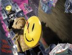 Wizard Watchmen Spread by mikemayhew