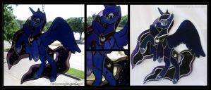 Luna Stained Glass by Falconsong