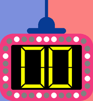 Double Dare Clock by mrentertainment