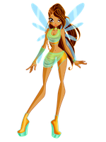 Adopt a Fairy - Issa - Fairy of Islands by AstralBlu