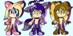 Sonic female adoptables CLOSED by TothViki