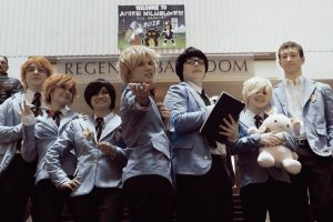 .:Ouran Host Club [Welcome to Anime Milwaukee]:. by ATLAWEFA