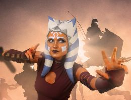Ahsoka Tano Cosplay: Force Push by mblackburn