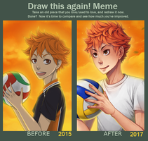 Draw this again! meme by zero0810
