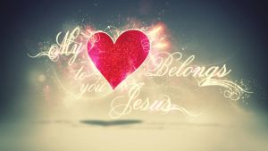 My heart belongs to you Jesus by mostpato