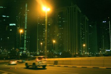 Dubai nightride by Squidt