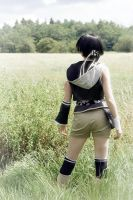 Yuffie Kisaragi: Materia Hunter by LittleBlondeGoth
