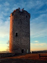 Waxenberg castle tower by patrickjobst