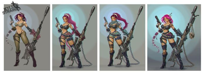 Saedie - Kill Strain - Early concept by Hamilton74