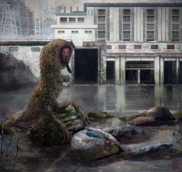 Pollution Monster by gagatka27