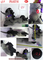 My Little Cuddle: King Sombra by BlackWater627