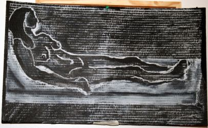 Reclining Nude by Stooball