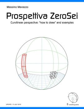 Curvilinear perspective-how to draw-(Marrazzo-2015 by Massimo-Marrazzo