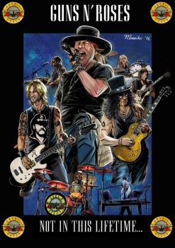 Guns n Roses  Poster Not In This Life by guarike