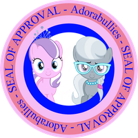 Diamond Tiara and Silver Spoon - Seal of Approval by iDeltaVelocity